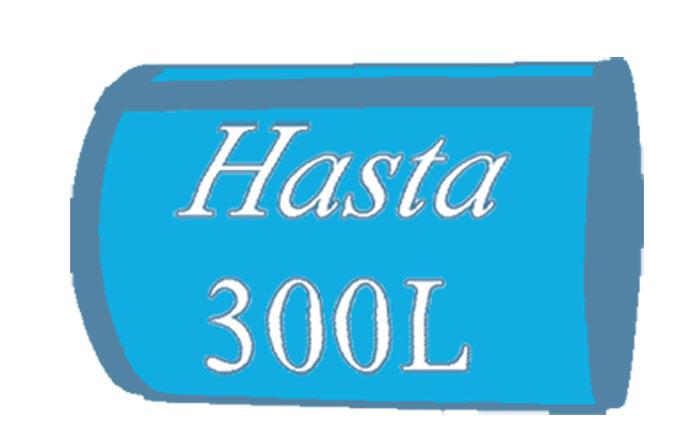 300litros